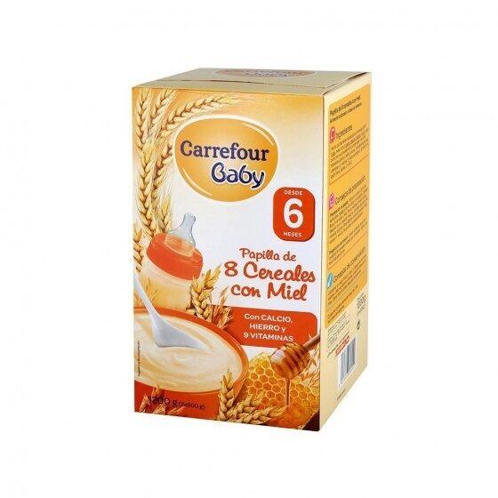 Papilla 8 Cereales - Producto - es