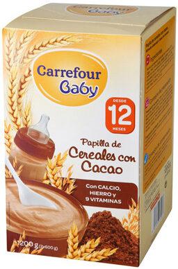 Papilla cereales cacao - Product - es