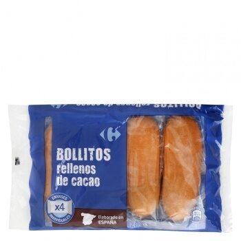 Bollitos rellenos de cacao - Produit - es