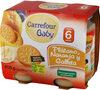 Tarrito naranja platano y galleta - Product