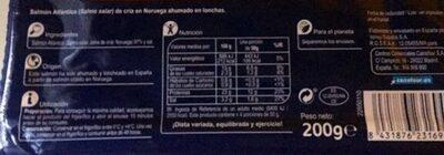 Salmón noruego - Ingredients