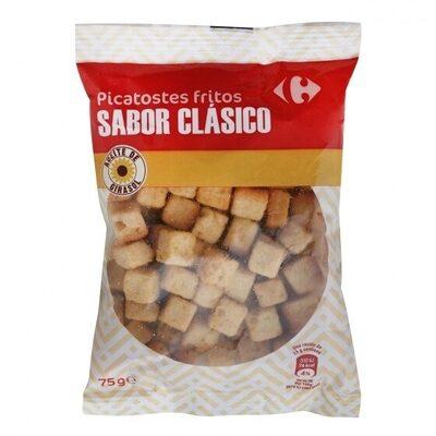 Picatostes fritos sabor natural - Producto