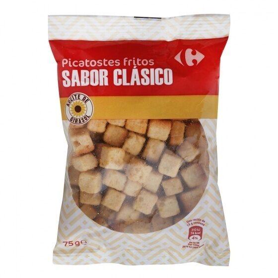 Picatostes fritos sabor natural - Producto - es