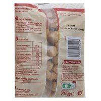 Picatostes fritos sabor natural - Información nutricional - es