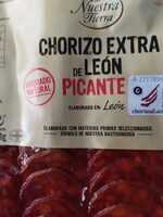 Chorizo extra de León picante - Producto