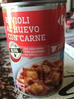 Raviolis Al Huevo Rellenos De Carne - Produit - fr