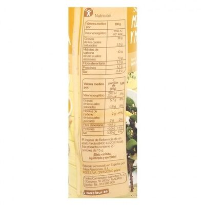 Salsa miel y mostaza - Informations nutritionnelles - es