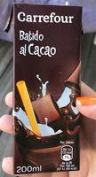 Batido cacao - Produit - fr