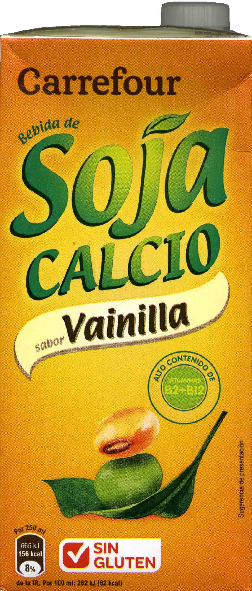 Bebida de soja con calcio sabor vainilla - Product - es