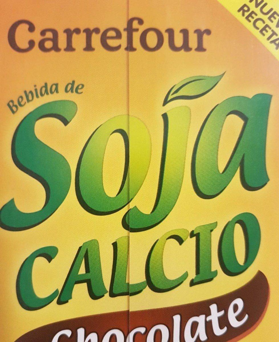 Bebida de soja calcio chocolate - Produit - fr