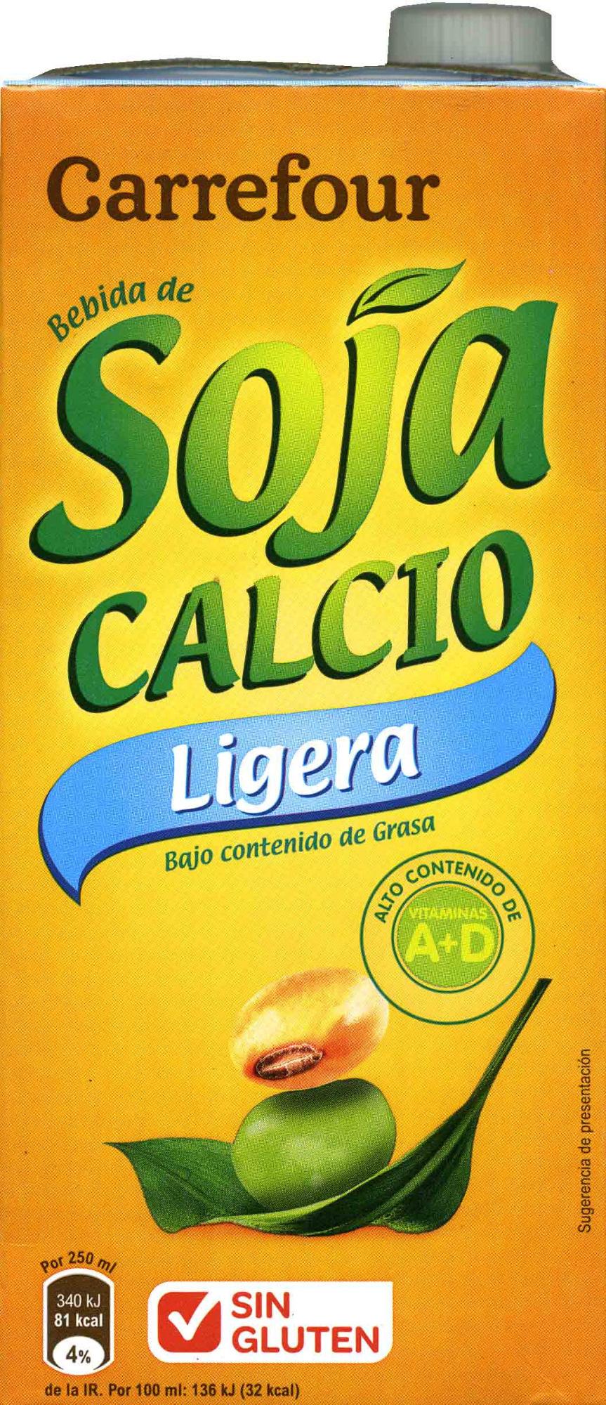 Bebida de soja ligera - Produit