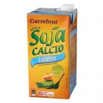 Bebida de soja calcio ligera - Produit - es