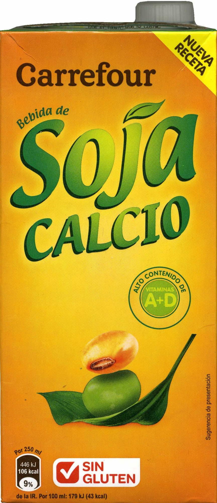 Soja calcio - Producte