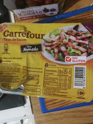 Tiras de Bacon Sabor Ahumado - Producte