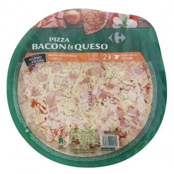 Pizza Bacon & Queso - Product - es