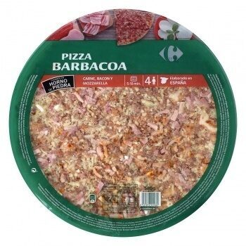 Pizza maxi barbacoa - Product - es