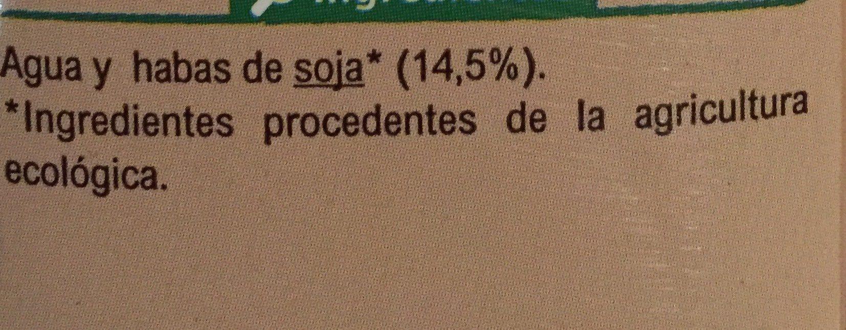 Bebida soja classic - Ingrédients - fr