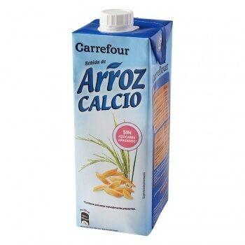 Bebida arroz calcio - Produit - es