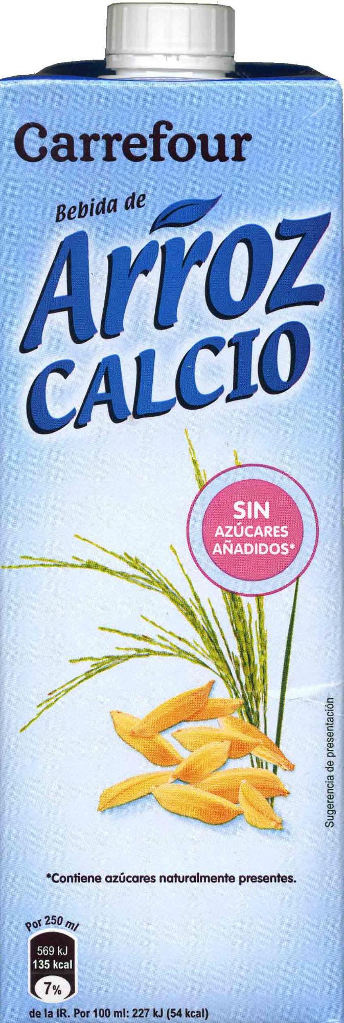 Leche de arroz calcio - Producto