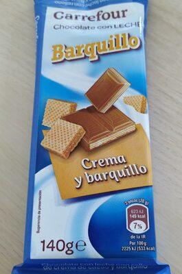 Chocolate con Leche Barquillo