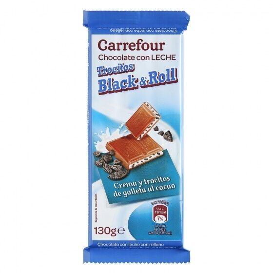 Chocolate con leche cachitos galleta - Produit - es