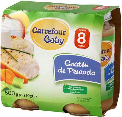 Tarrito gratin de pescado - Produit - es
