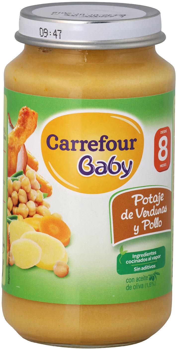 Tarrito potaje verduras con pollo - Produit - es