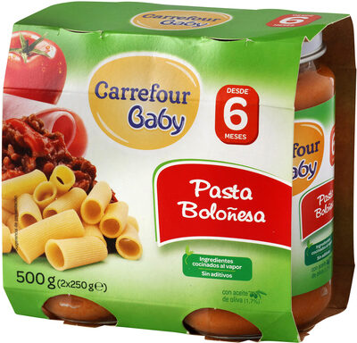 Tarrito pasta boloñesa - Produit - es