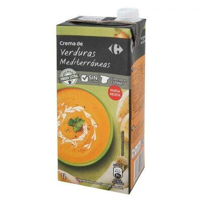 Crema de verduras mediterráneas - Product - es