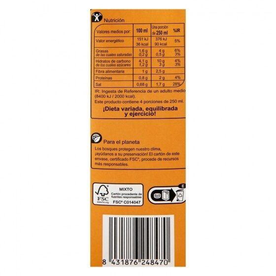 Crema de verduras mediterráneas - Voedingswaarden - es