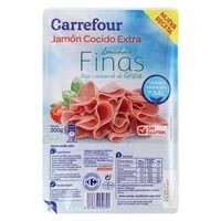 Jamon Cocido Extra Finas Lonchas Red.Sal - Producte - es
