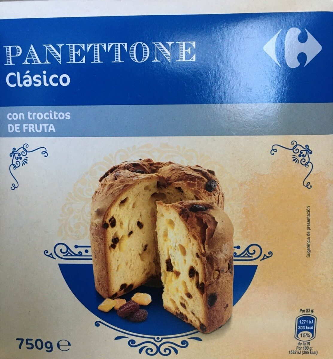 PANETTONE clásico - Producto