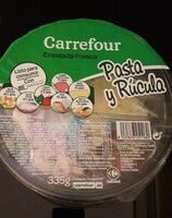 Pasta y rúcula - Producto - es