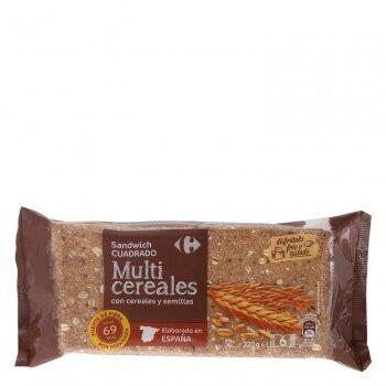 Pan sandwich fino multicereales - Producto - es
