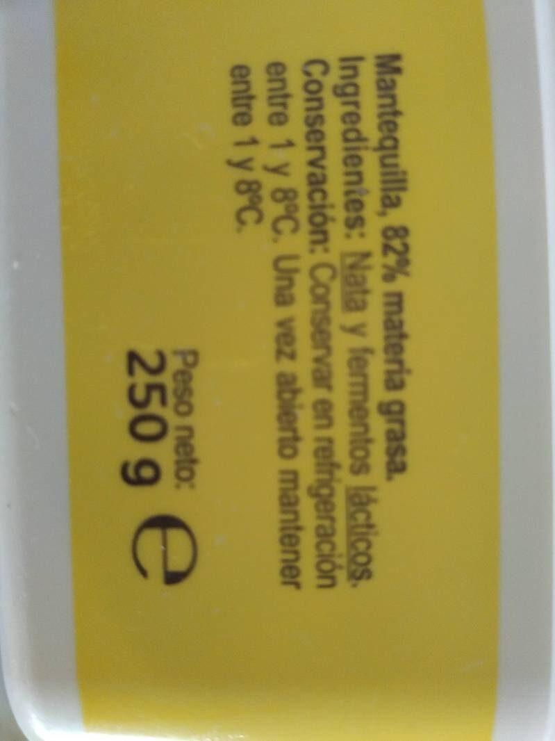 Mantequilla - Ingredientes - es