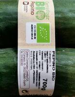 Pepino bio - Nutrition facts - es