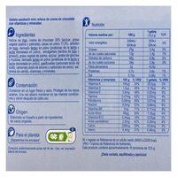 Mini galleta rellenas - Nutrition facts - es