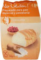Preparado para pan y pastelería sin gluten - Producto - es