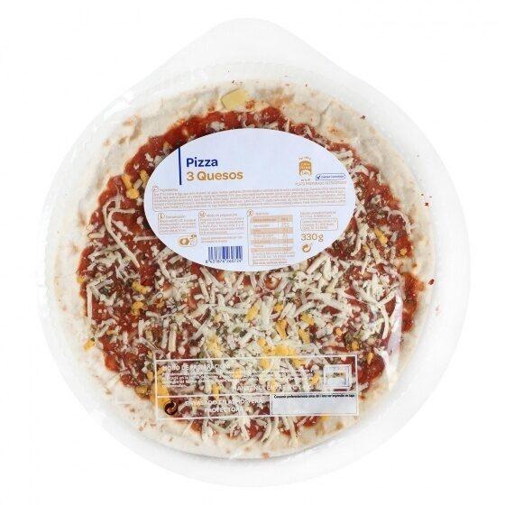 Pizza 3 quesos - Produit - es