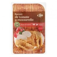 Ravioli de tomate y mozzarella - Produit - es