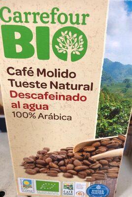 Café molido tueste natural