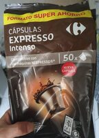Cápsulas expresso intenso - Product