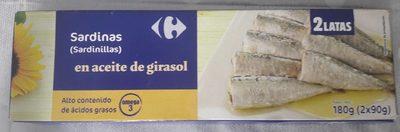 Sardinilla en aceite girasol rr-90 - Produit - fr