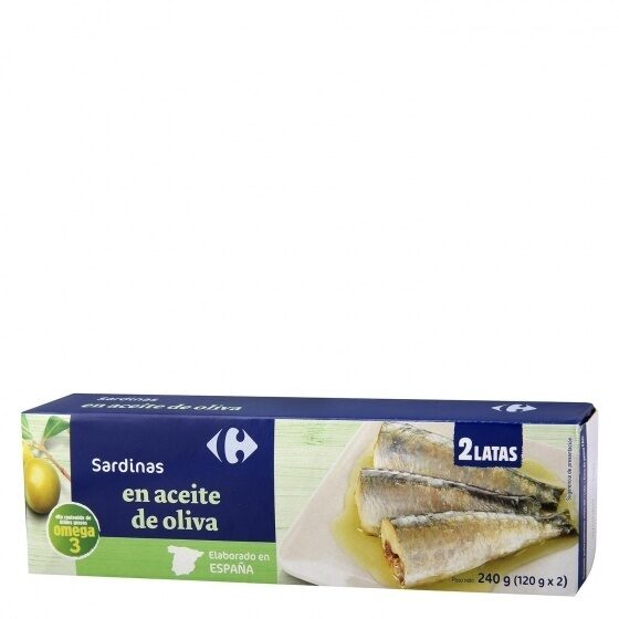 Sardina aceite oliva rr-125 - Producto - es