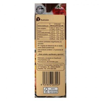 Caldo paella - Información nutricional - es