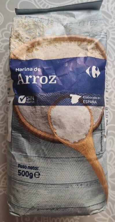 Harina de arroz - Producte