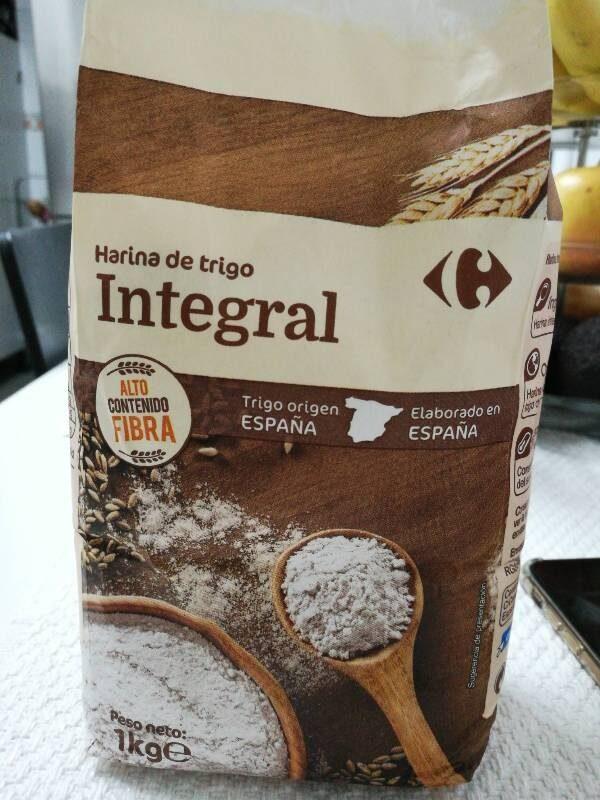 Harina de trigo integral supeco - Producto