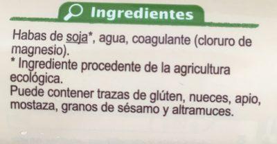 Tofu natural - Ingrédients - fr