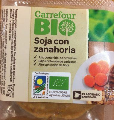 Hamburguesas Soja con zanahoria - Product