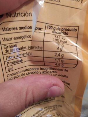 Aceituna manzanilla con hueso - Informació nutricional - es